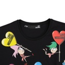 MOSCHINO COUTURE LADY T-SHIRT
